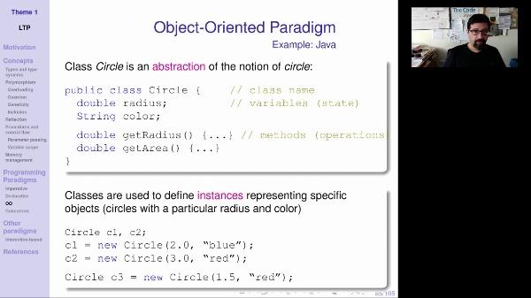 LTP - Unit 1 - Object oriented paradigm