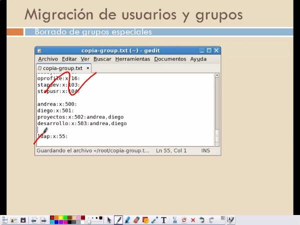 Gestión de cuentas de usuarios y grupos Linux usando LDAP