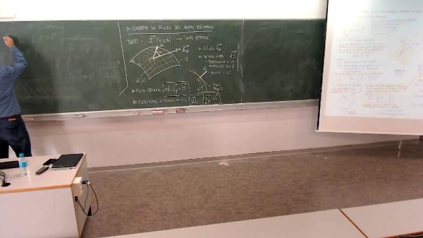 Física 1. Lección 4. Ejemplo de flujo