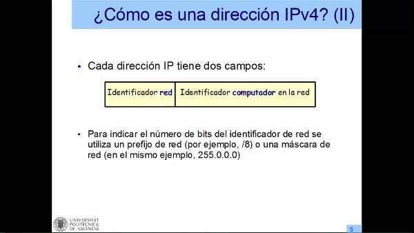 El direccionamiento IP
