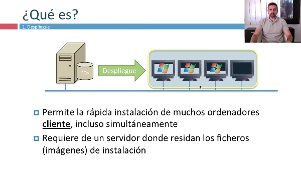 Despliegue de sistemas operativos
