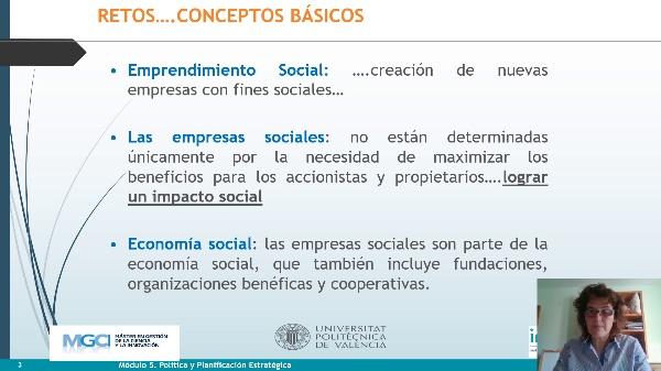 Vídeo 2. Innovación Social