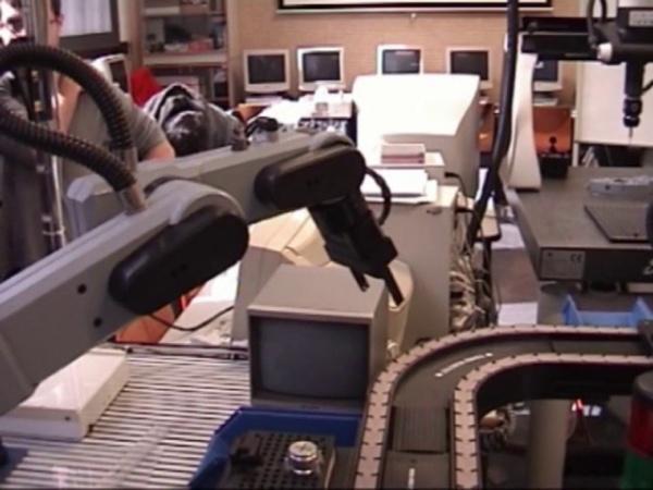 El manipulador industrial