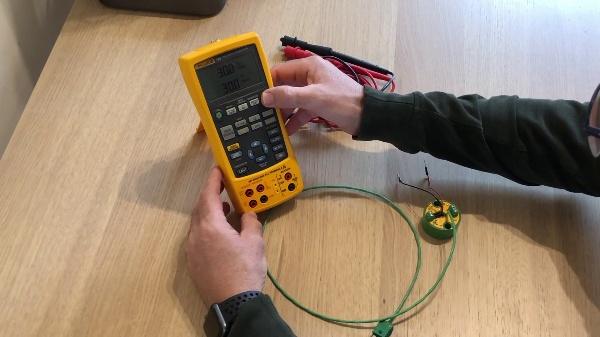 Calibración de un transmisor de temperatura