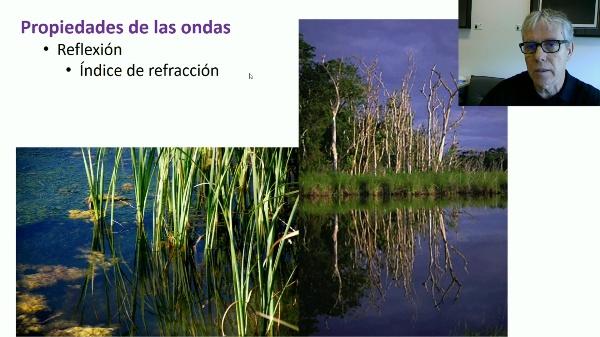 Propiedades de las ondas: reflexión. Índice de refracción.
