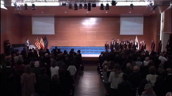 24/001/2020 - Acto Académico de entrega de la Medalla XXV años de la Universitat Politècnica de València y de reconocimiento al personal jubilado
