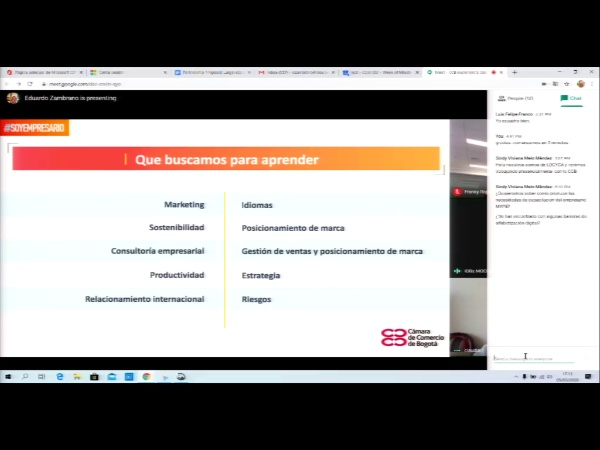 SPOC Gestión de MOOC. Cámara de comercio de Bogotá. Temática políticas públicas