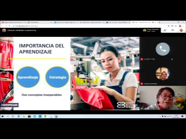 SPOC Gestión de MOOC. Cámara de comercio de Bogotá. Aprendizaje en las empresas