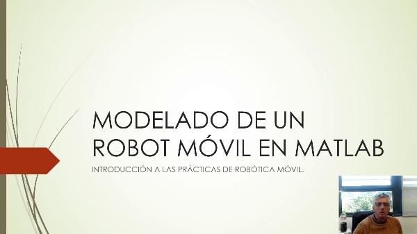 Simulación de robots móviles en Matlab