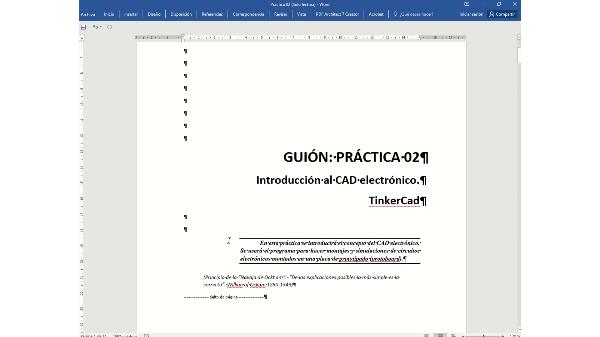 Electronica GTDM. Practica 02. Docencia VIRTUAL.
