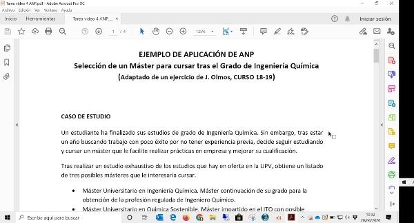 Uso de Superdecisions para ANP 1