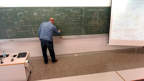 Física 1. Lección 4. Problema 10: Superficie esférica