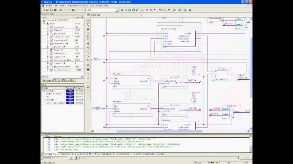Ejemplo del Editor de Memorias de Quartus con LCD en PinP. (Version 3.0)