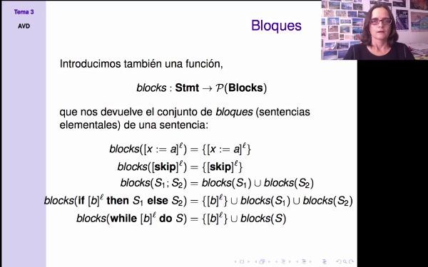 AVD - Análisis estático - funciones blocks y labels