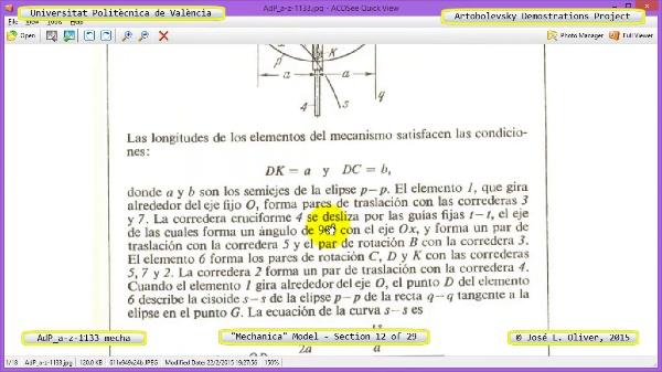 Simulación Mecanismo a-z-1133 con Mechanica - 12 de 29