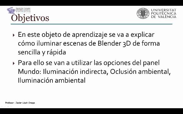 ILUMINACIÓN BÁSICA EN BLENDER 3D