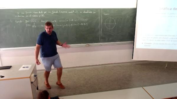 Matemáticas I-8-4-Ejemplo ¿Es la gráfica de una función, es un círculo?