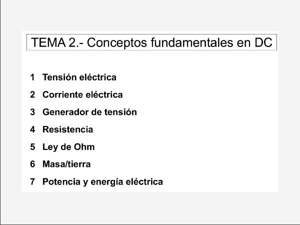 2.1.- Tensión eléctrica