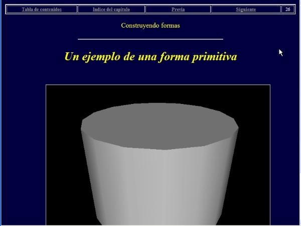 Construyendo formas VRML