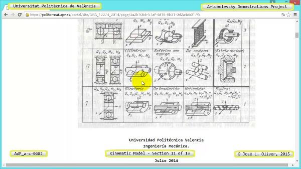 Simulación Mecanismo a-c-0683 con Cosmos Motion - 11 de 13