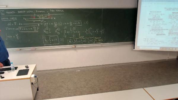 Física 1. Lección 2.Teorema energía cinética forma diferencial