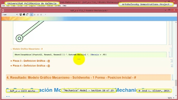 Simulación Mecanismo a-z-1133 con Mechanica - 18 de 29
