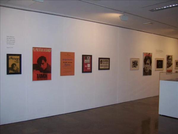 Raimon a la UPV. L'espai de l'exposició. 50 anys d'Al vent