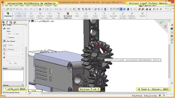 Creación Virtual Modelo Lego Technic - Isogawa ¿ ev3-0024 ¿ 5 de 5