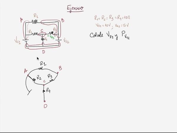 Teoría de Circuitos 1. Lección 3. 4.1.2 Método de análisis sistemático de un circuito