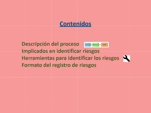 Gestión de Proyectos - Los riesgos: Identificación