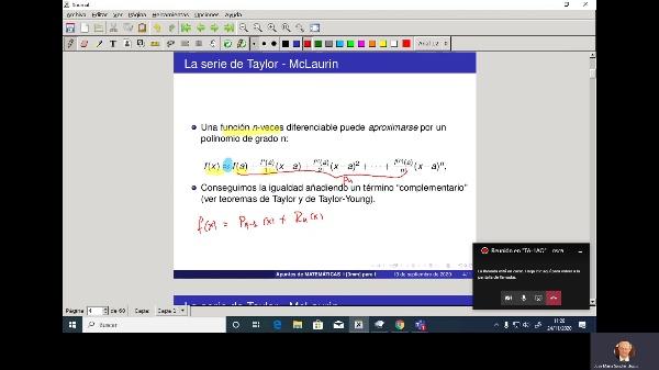 Matemáticas 1 GIOI grupo A  Clase 21