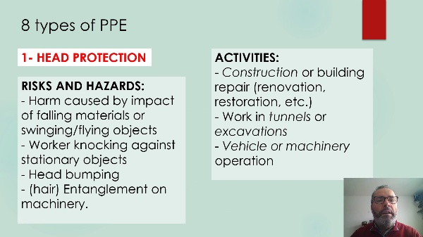 Technical English-PERSONAL PROTECTIVE EQUIPMENT