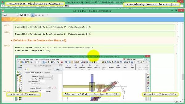Simulación Mecanismo a-z-1133 con Mechanica - 26 de 29