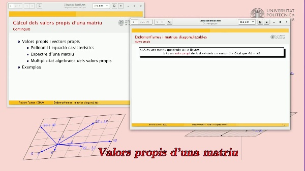 Càlcul dels valors propis