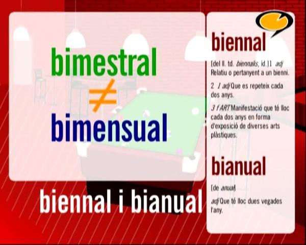 Biennal, bianual