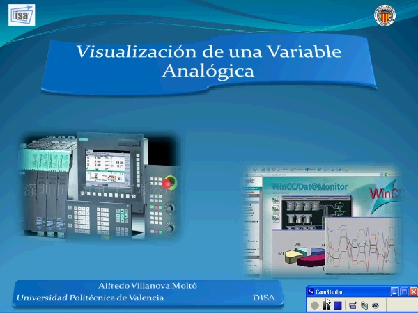 Visualización de variables Analógicas