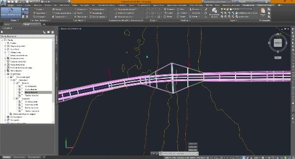 Generación de obras lineales en Civil 3D