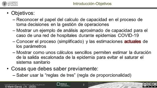 El uso de la 'regla de tres' para un análisis aproximado de capacidad de hospitales aplicado a COVID-19