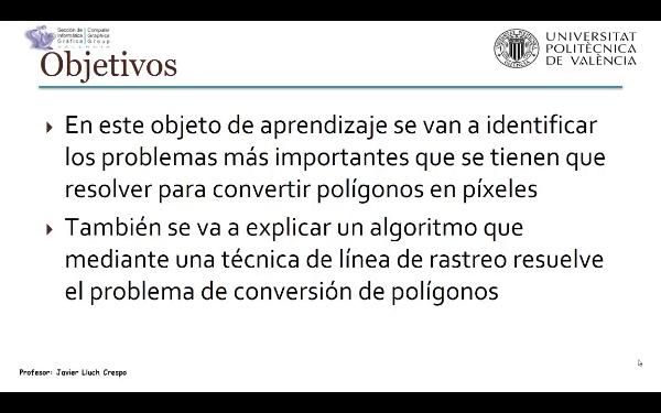 Conversión de Polígonos al ráster