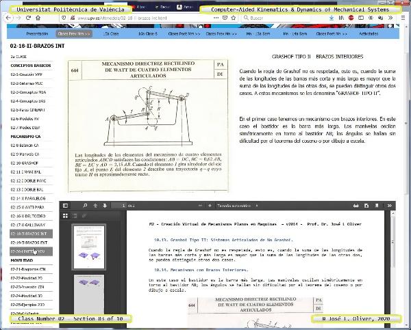 Mecánica y Teoría de Mecanismos ¿ 2020 ¿ MM - Clase 02 ¿ Tramo 03 de 10