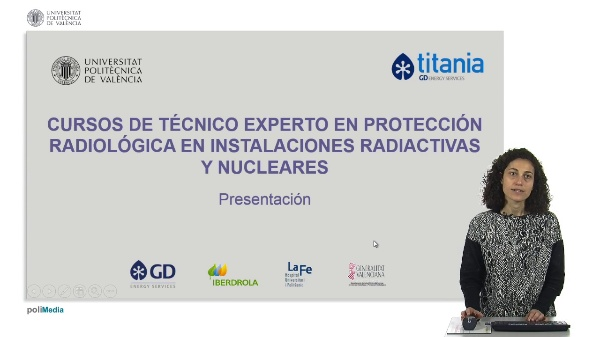Presentación Cursos Técnico Experto en Protección Radiológica