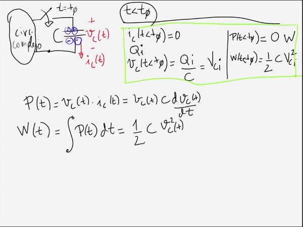 Teoría de Circuitos 1. Lección 4. 2-2 Ecuaciones de carga de un condensador