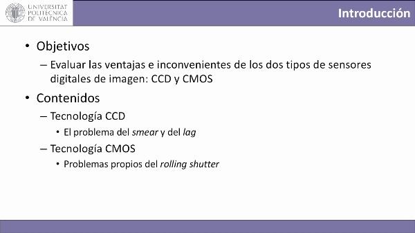 Sensores digitales de imagen: CCD vs CMOS