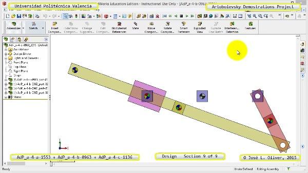 Creación Virtual Mecanismos a-4-1553-0963-1136 con Solidworks - 9 de 9