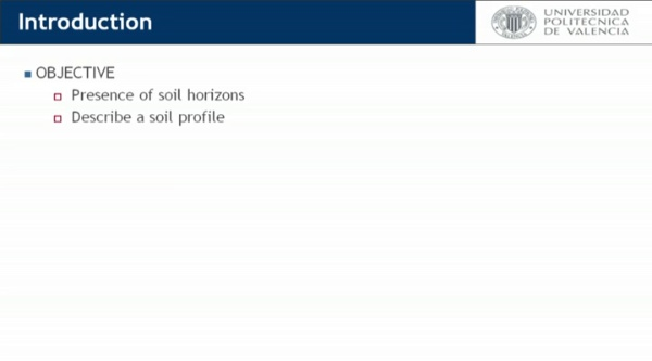 How to describe a soil profile