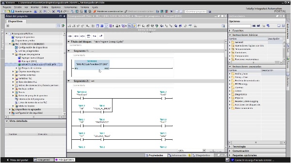 Verificar automatismo entre Factory IO y PLCSim