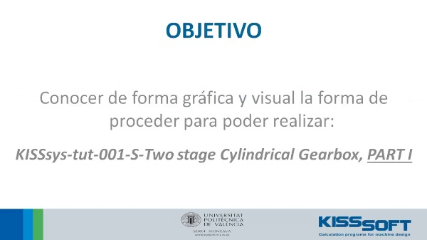 181_KISSsys® - Tutorial 1 - Two Stage Helical Gearbox - Parte I