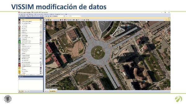 Modificación de datos en VISSIM