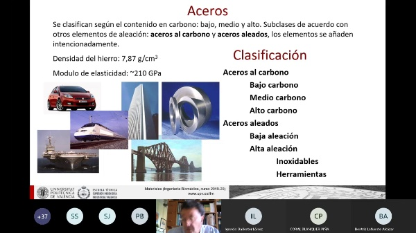 Clase de Materiales: ALEACIONES PARA INGENIERIA I