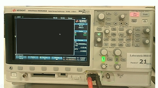 Osciloscopio K en